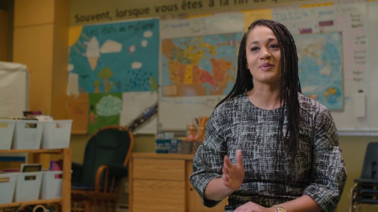 Manitoba Teachers' Society – Michelle's Story